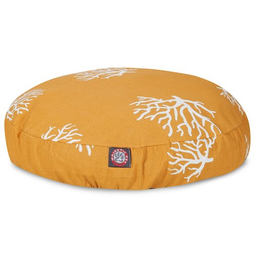 Majestic Pet Products Coral Round Pet Bed Pillow