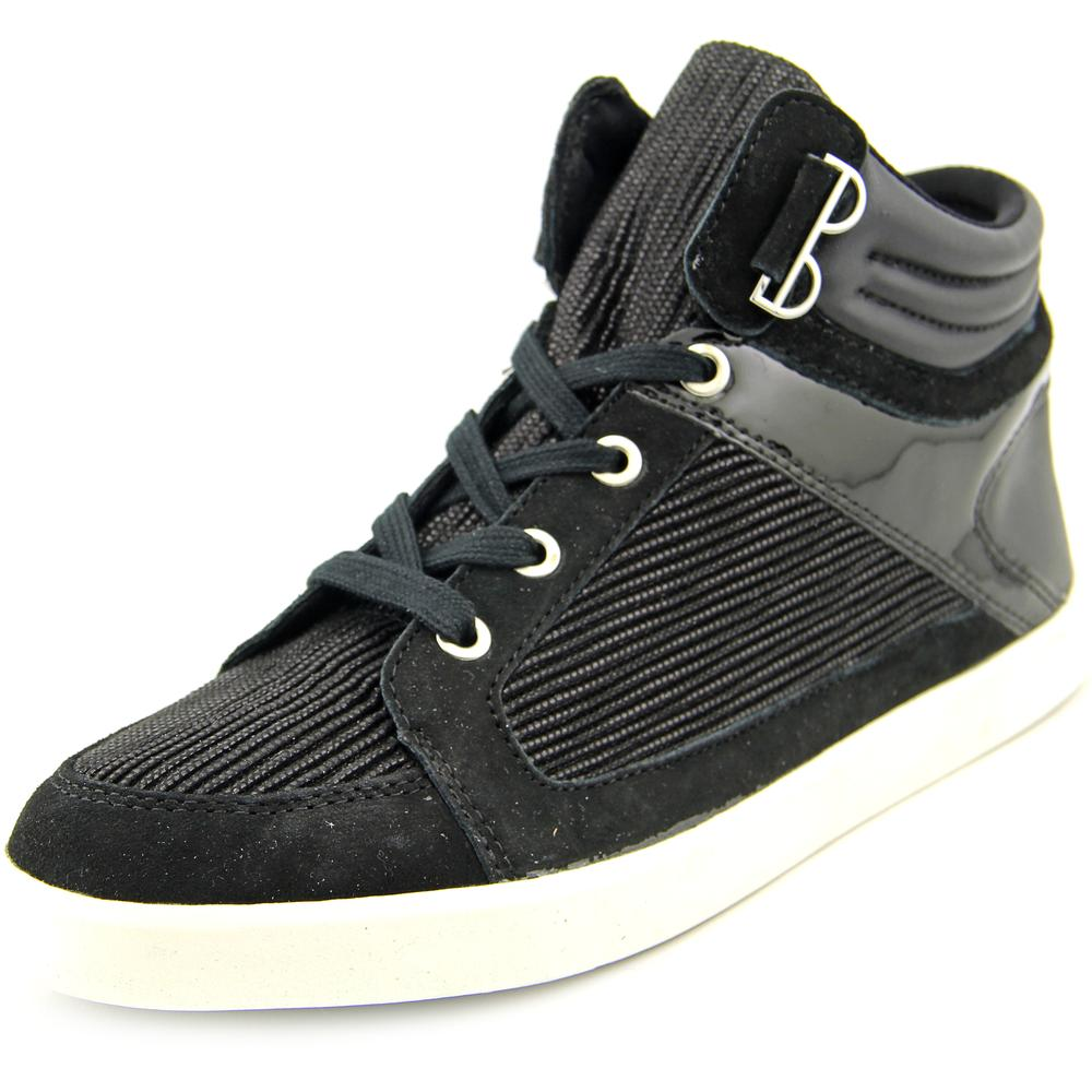 Calvin Klein Lyda   Round Toe Leather  Sneakers