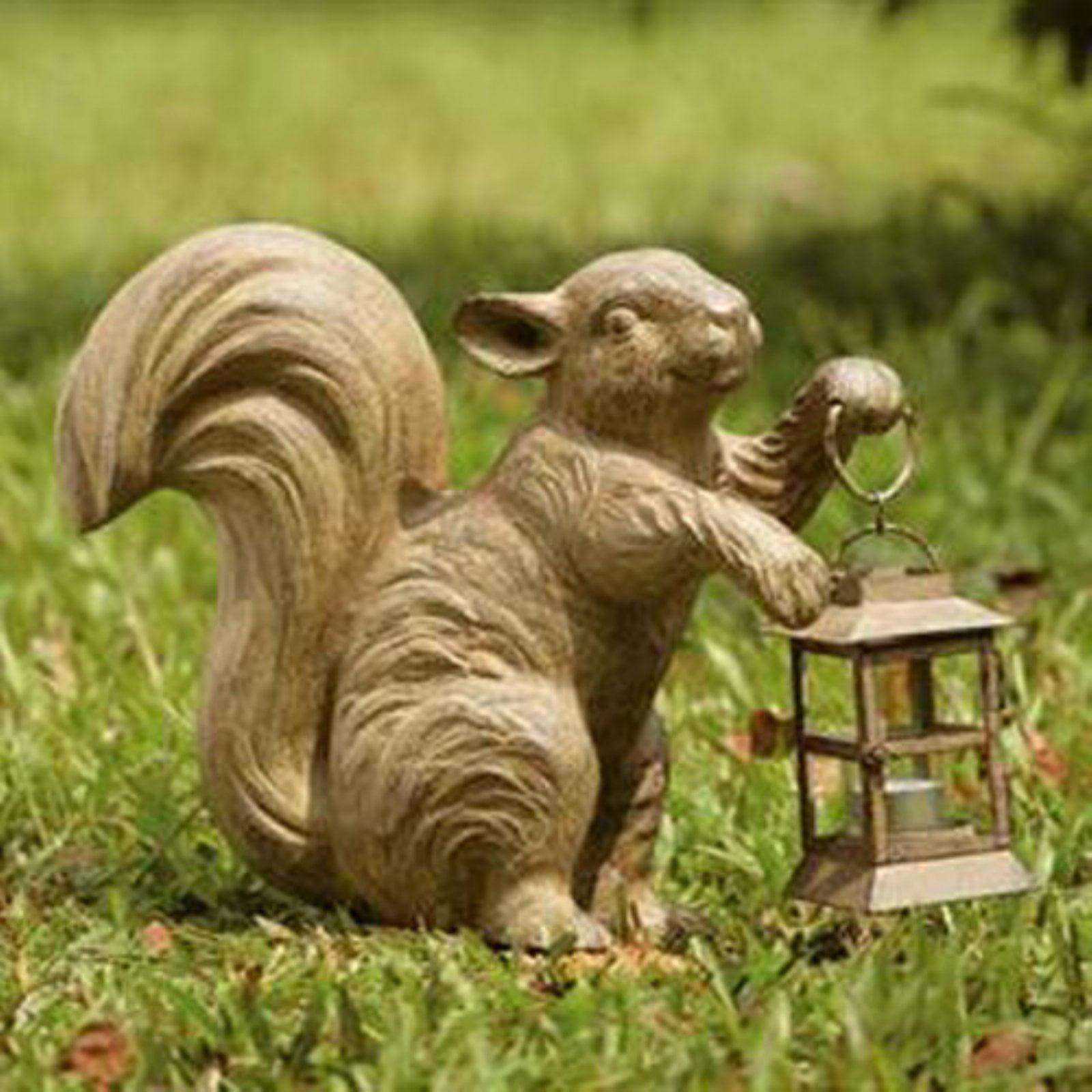 Squirrel with Lantern