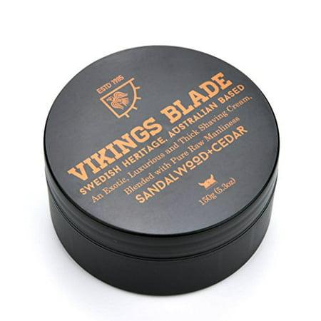 - Shaving Cream Sandalwood & Western Red Cedar 100% Pure Raw Manliness 5.3 oz