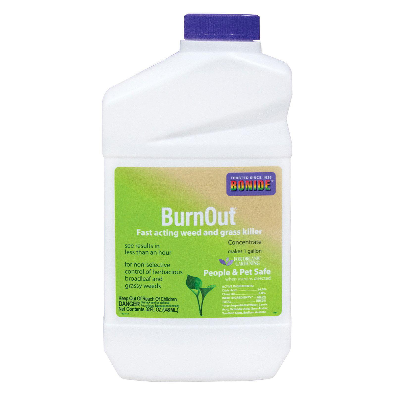 Bonide BurnOut Weed & Grass Killer Concentrate
