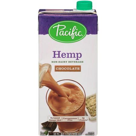 Pacific Foods Hemp Chocolate Beverage  32 Ounces
