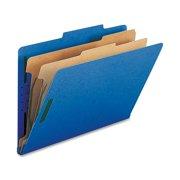 Nature Saver 2-divider Legal Classifciation Folders, Green, 10 / Box (Quantity)
