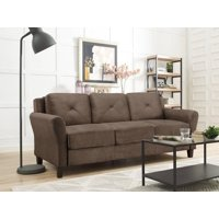 Deals on Lifestyle Solutions Taryn 78.75-inch Curved-Arm Sofa