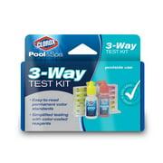 Clorox Pool&Spa 70000CLX 3-Way Test Kit 2 Pack