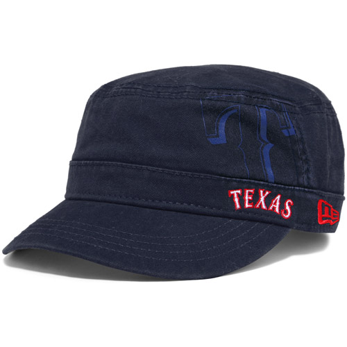 Texas Rangers New Era Youth Girl's Goal-2-Go Adjustable Hat - Royal - OSFA