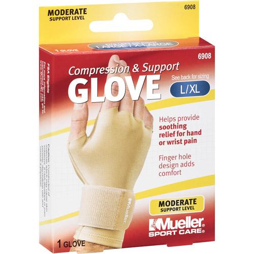 Compression & Support Glove, LG/XL