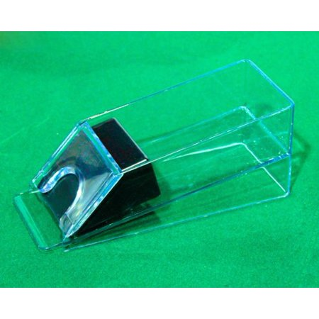 Brybelly 4 Deck Casino Grade Acrylic Blackjack Dealer (Blackjack Dealing Shoe Holds)