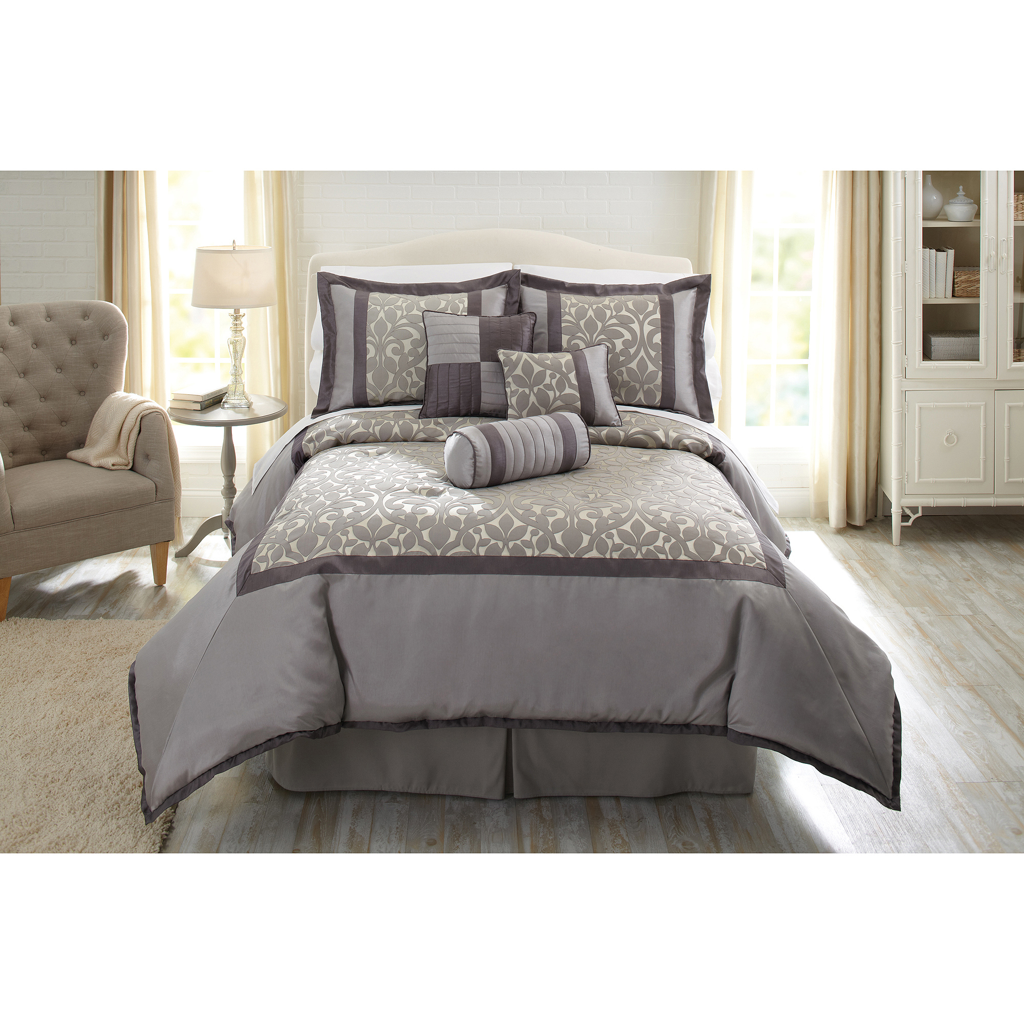 Better Homes and Gardens Natalie 7 Piece Comforter Set