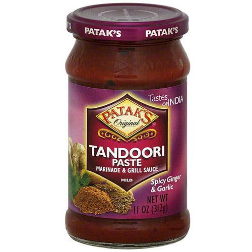 Patak's Spicy Ginger & Garlic Marinade, 11 oz (Pack of 6)