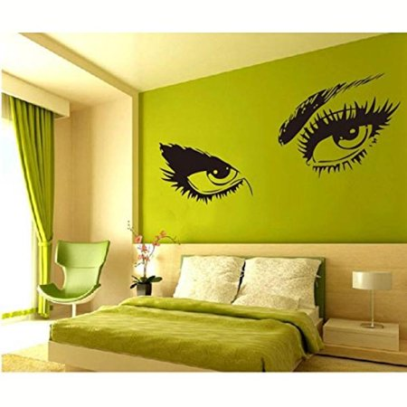 ZN Sexy Women Eyes Home Ball Decor Removable Wall Decals - Walmart.com