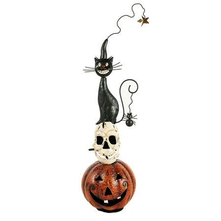 Halloween Meals For Potlucks (Halloween Pumpkin/Skull/Cat Metal)