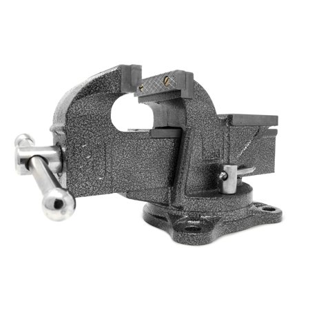 WEN 3-Inch Heavy Duty Cast Iron Bench Vise with Swivel Base