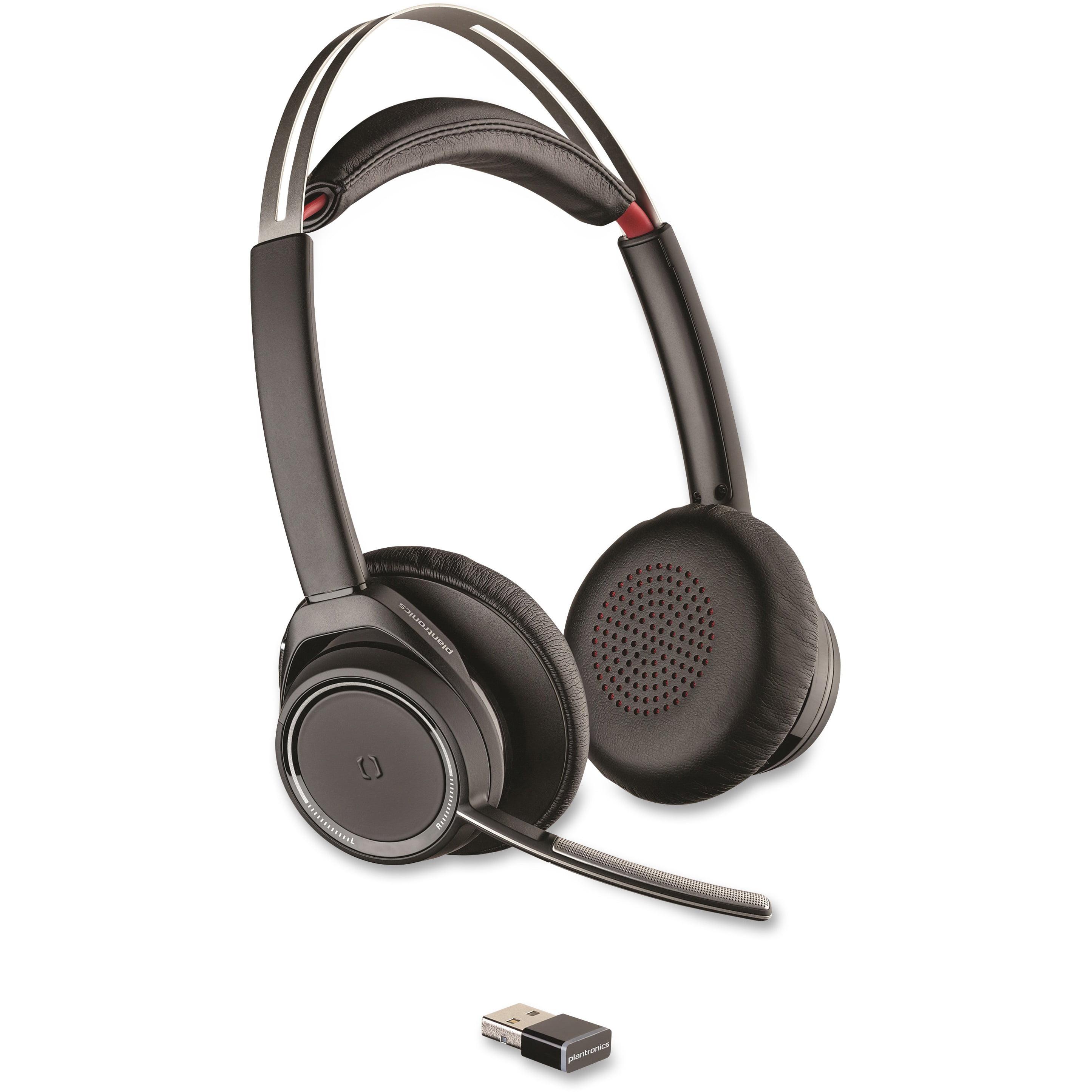 c574018be96 Plantronics, PLNB825, Voyager Focus Noise-canceling Headset, 1 - Walmart.com