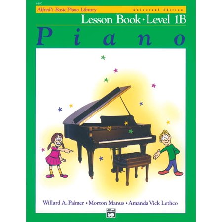 Alfred's Basic Piano Library: Alfred's Basic Piano Library Lesson Book, Bk 1b: Book & CD (Paperback) ()