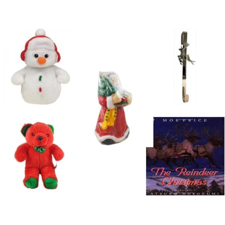 Christmas Fun Gift Bundle 5 Piece Ty Baby Beanies