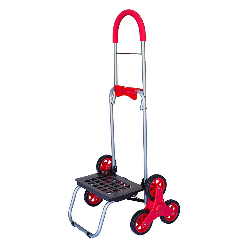 dbest Mighty Max Stair Climbing Cart - Tri-Wheel Steppers...