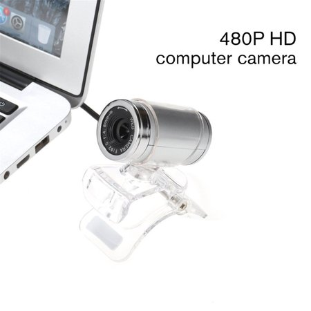 FANNI Rotatable Camera HD Webcam 480P USB Camera Video Recording Web Camera - image 6 of 8