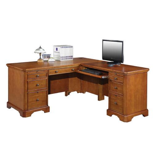 Alcott Hill Chester L-Shape Executive Desk