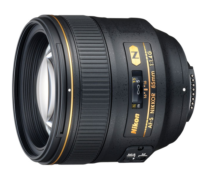 Nikon AF-S NIKKOR 85mm f 1.4G Telephoto Lens by Nikon