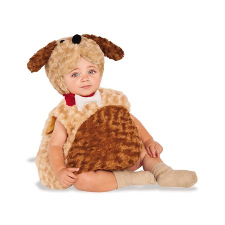 Matching Halloween Costumes For Babies And Dogs (Puppy Dog Infant Toddler Animal Fluffy Plush Halloween)