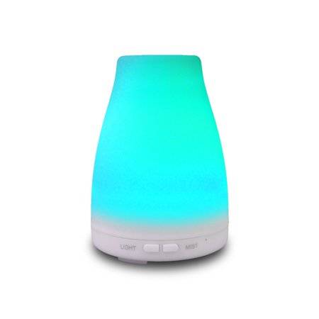 EcoGecko Aromatherapy Essential Oil Diffuser, Aroma Oil Diffuser with Color Changing LED Lights