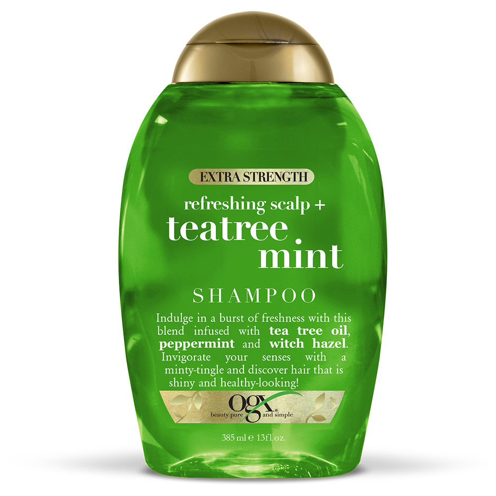 OGX Extra Strength Tea Tree Mint Shampoo 13oz