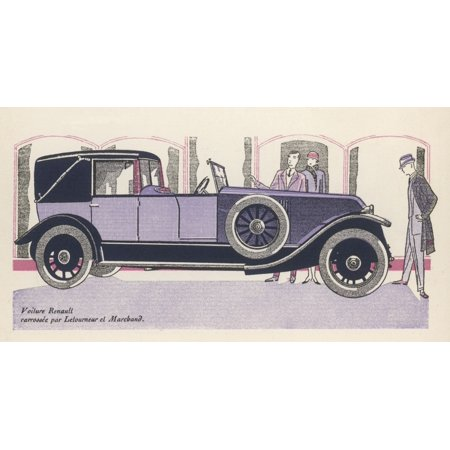 Renault Admired Poster Print By Mary Evans Picture Library