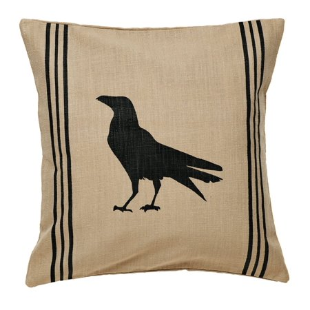 Olde Black Pottery (Olde Crow Pillow Cover)