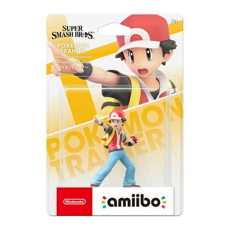 Nintendo, Pokemon Trainer Super Smash Bros. Series amiibo, Universal, 0, (Unlock All Super Smash Bros Melee Characters)