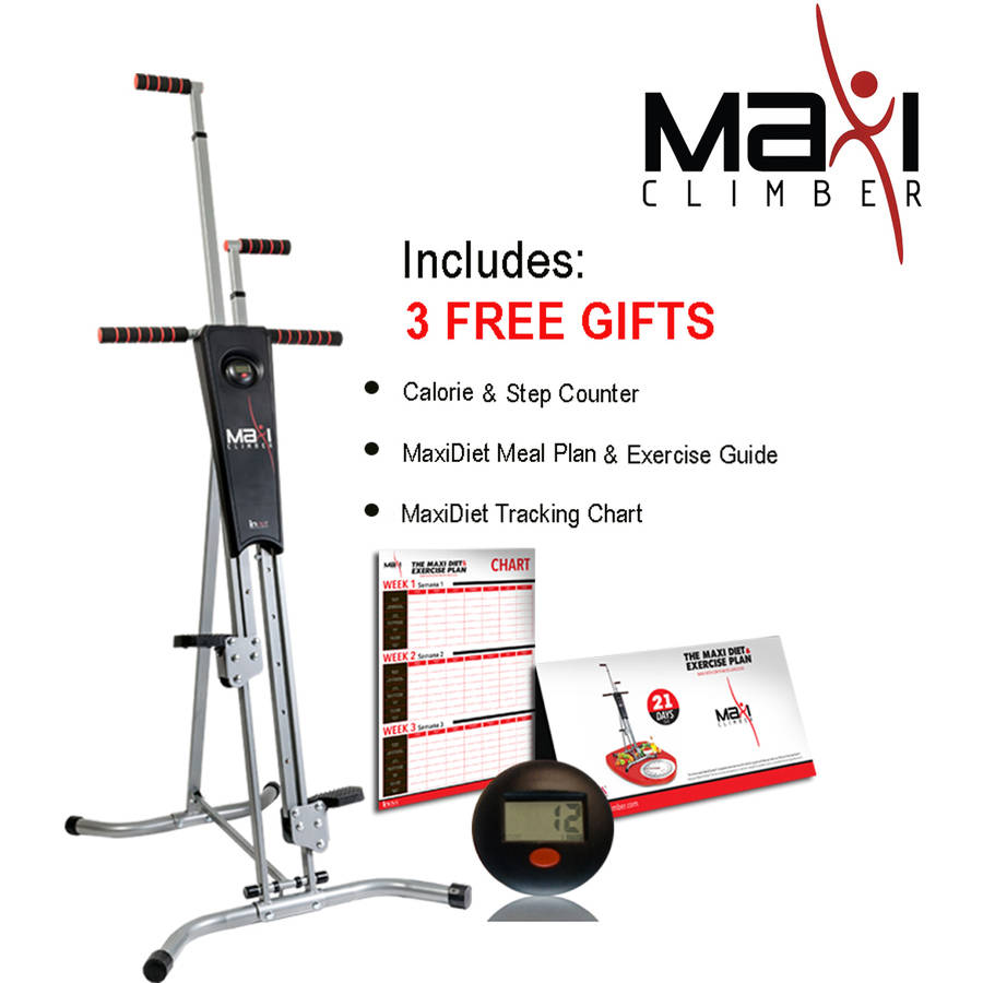 Home Exercise Equipment Stepper: MaxiClimber Total Body Workout