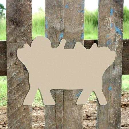 Wood Shapes for Crafts, Wooden Nativity Jesus shape, 6
