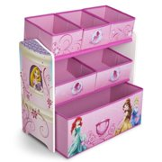 Delta Children Disney Princess Multi-Bin Toy Organizer