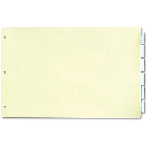 Stride, Inc. Insertable 5-Tab Index Dividers