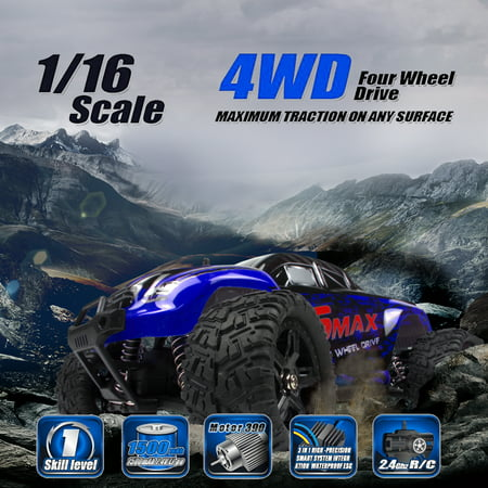 High Speed 4WD RC Brushed Car 1631 1/16 Scale Off-road Short-haul Monster Truck Rc Nitro Cars Trucks