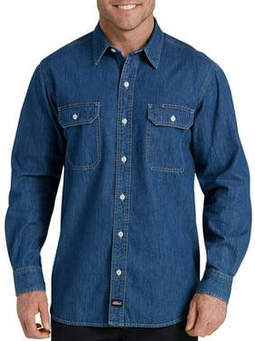 918d9595da Product Image Men s Heavy Weight Long Sleeve Denim Shirt
