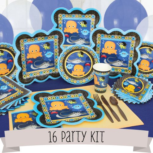 Under the Sea Critters - 16 Person Party Kit