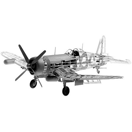 Guillow's Vought F4U-4 Corsair Model Kit (F4u Corsair Aircraft)