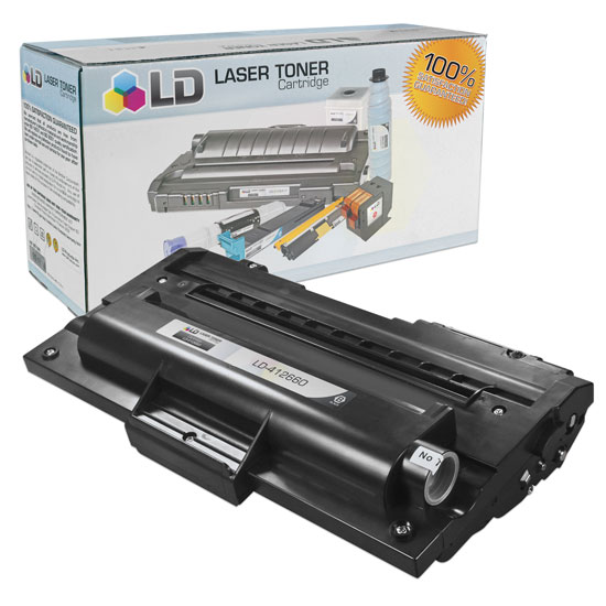 LD Compatible Ricoh Black 412660 Laser Toner Cartridge for the AC205