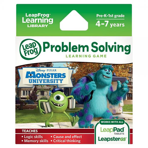 LeapFrog Disney Pixar Monsters University Learning Game (works with LeapPad Tablets,... by