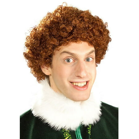 Buddy Elf Adult Wig - Tangled Wig For Adults