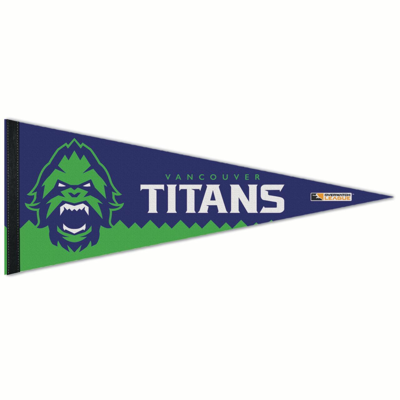 "Vancouver Titans WinCraft 12"" x 30"" Premium Pennant - No Size"