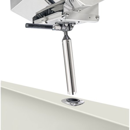 """Magma T10-355"""" LeveLock"""" All-Angle Fish-Rod Holder (HD) Mount for All Rectangular Grills and Single Mount Tables"""