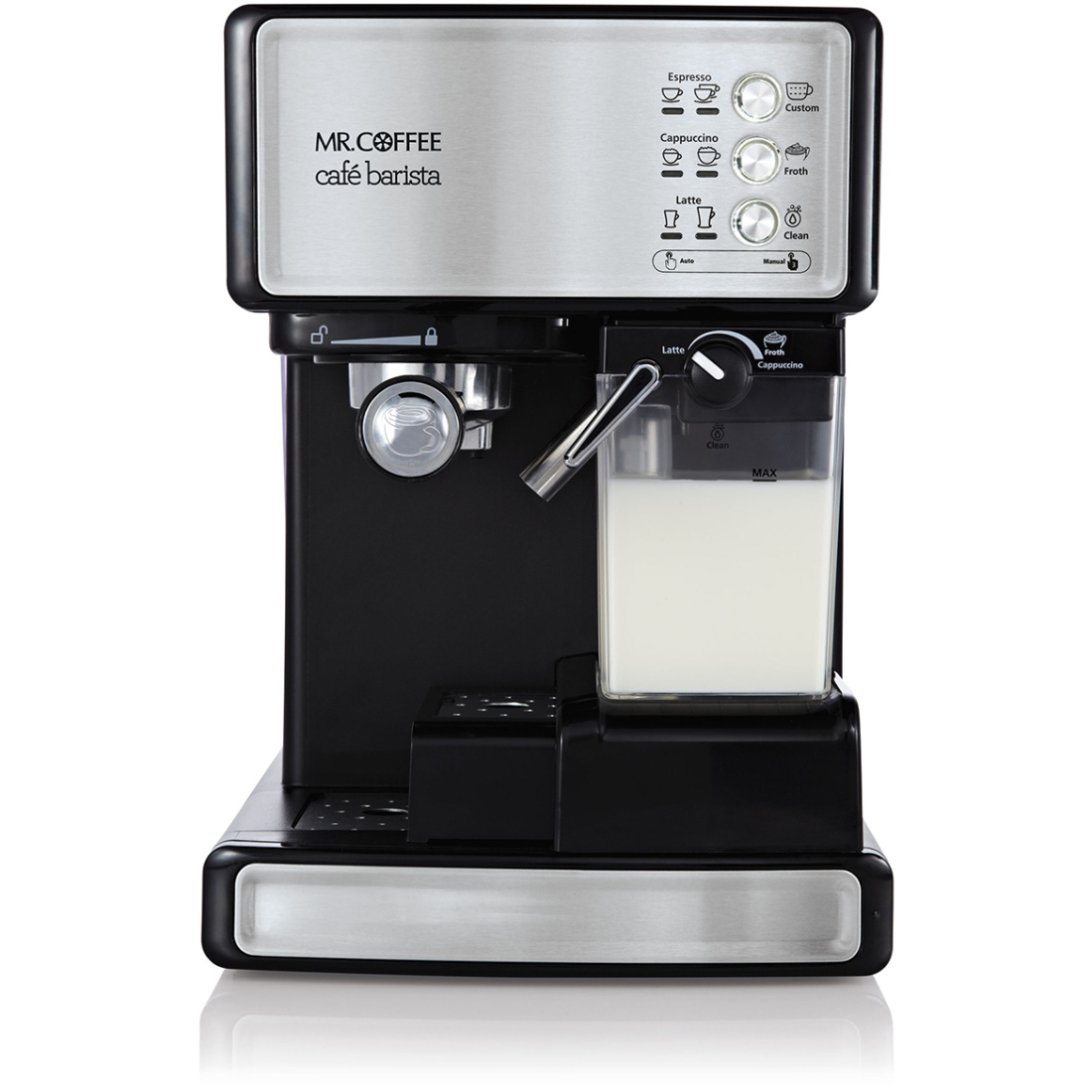 Mr Coffee Caf Barista Bvmc Ecmp1000 Espresso Programmable15 Bar Black Rb