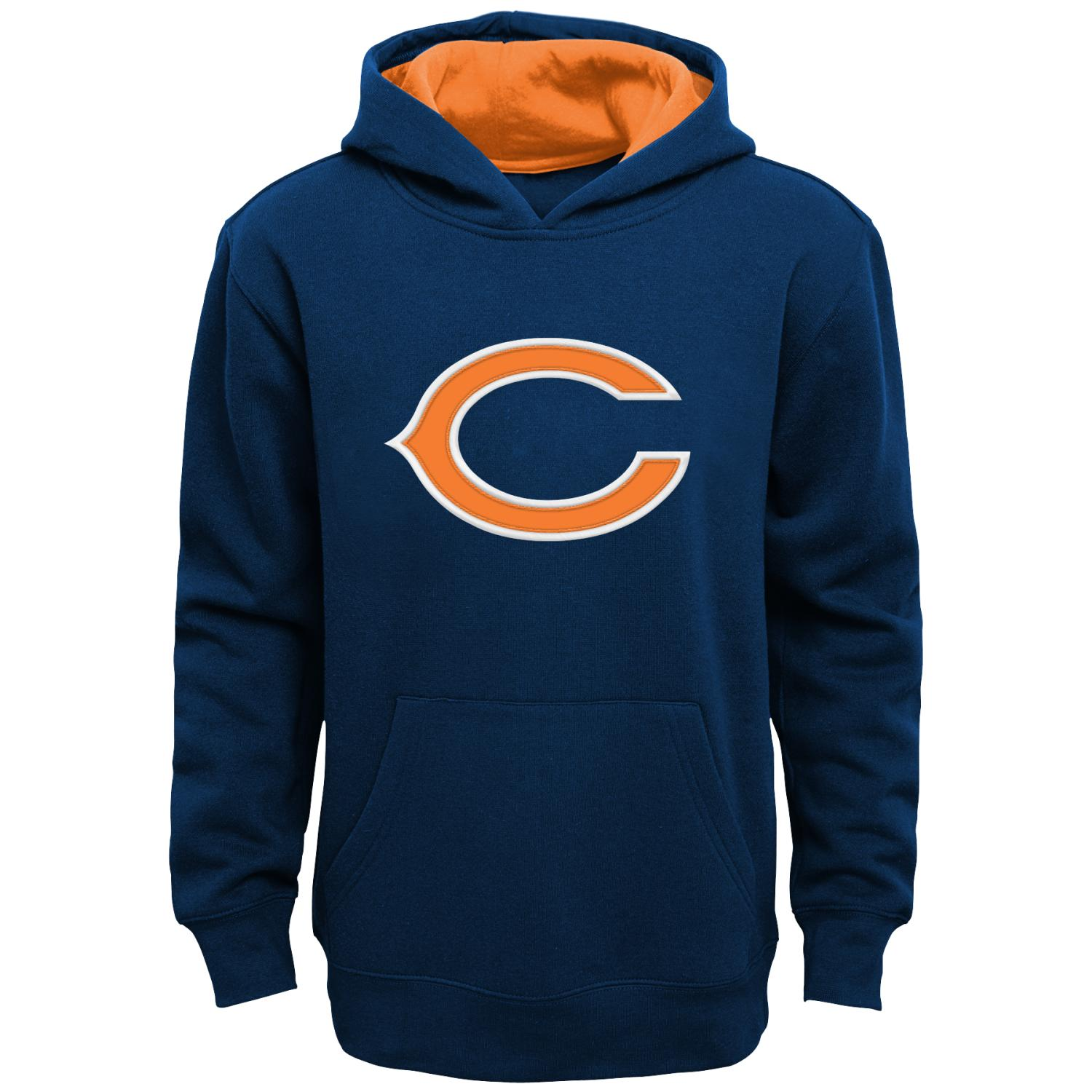 """Chicago Bears Youth NFL """"Primary"""" Pullover Hooded Sweatshirt"""