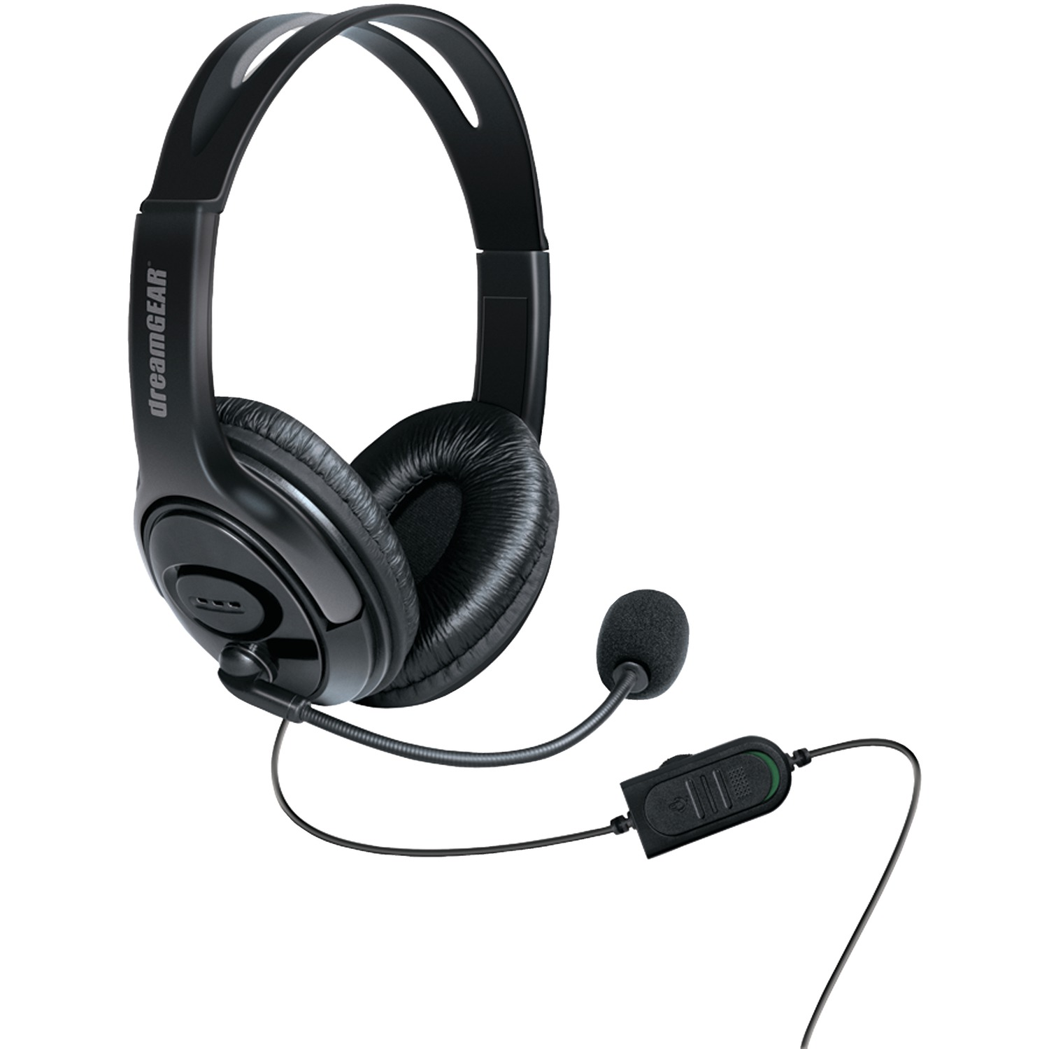 Dreamgear DGXB1-6617 Xbox One Wired Headset With Microphone (Black)
