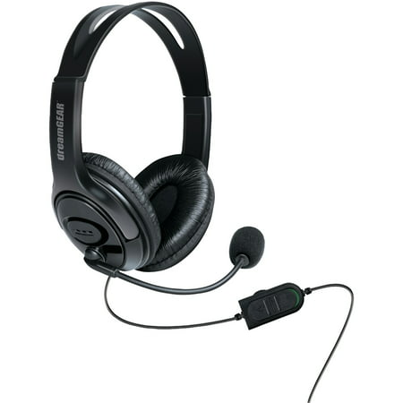dreamGEAR DGXB1-6617 Wired Headset with Microphone for Xbox One