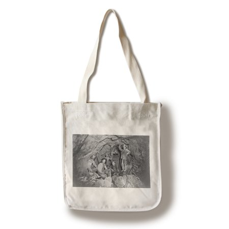 Coeur Dalene  Idaho   Chance Mine Lead Mining   Vintage Photograph  100  Cotton Tote Bag   Reusable