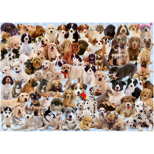 Ravensburger Dogs Galore Puzzle, 1000 Pieces