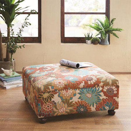 Carlyle Cocktail Ottoman In Multi